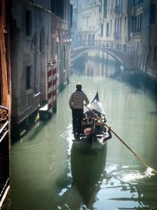 Gondola v Benátkách