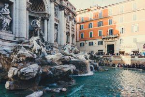 Fontána di Trevi, která plní přání