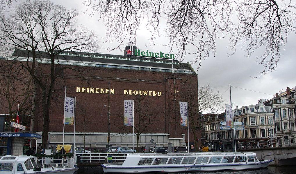 Zájezd do pivovaru Heineken v Amsterdamu
